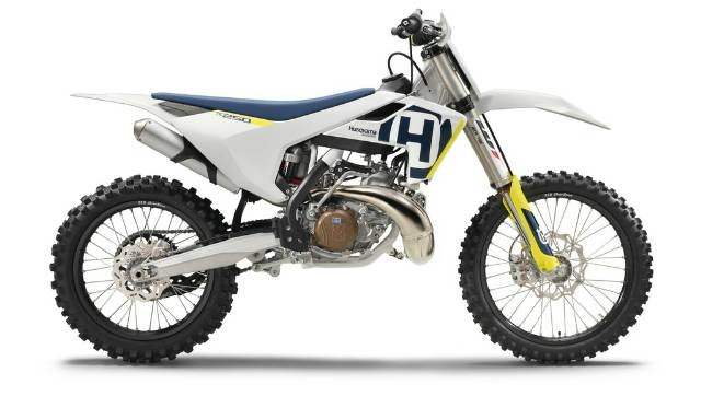 2018 HUSQVARNA TC 250 WHITE