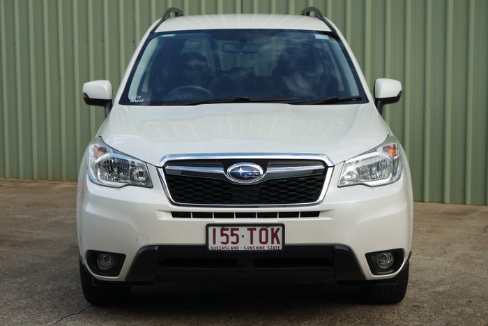 2012 Subaru Forester 2.0D-L S4 MY13 AWD WHITE