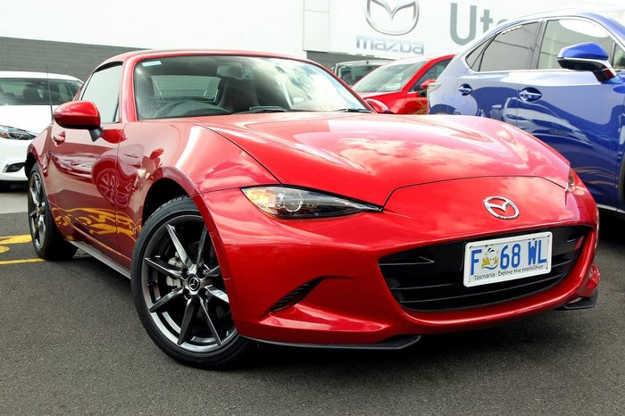 2017 MAZDA MX-5 GT ND Red