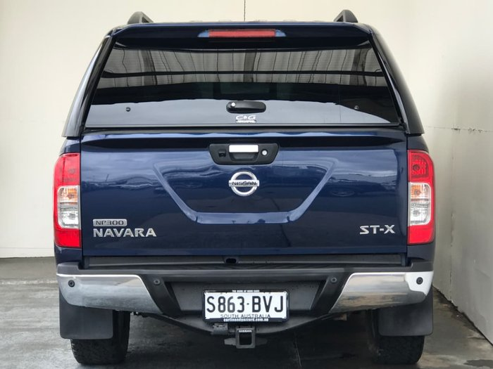 2015 NISSAN NAVARA ST-X D23 Blue