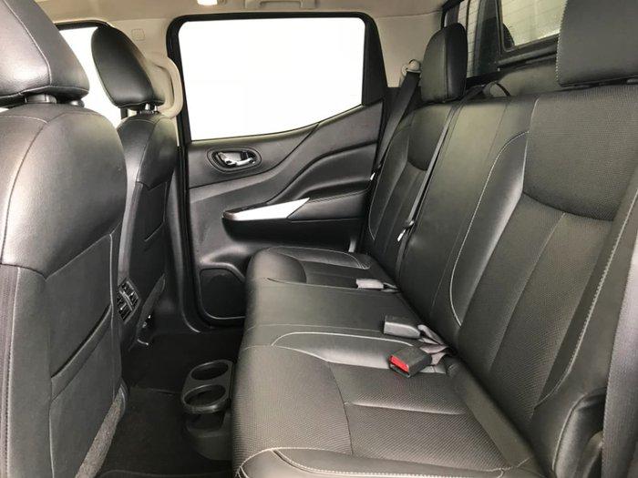 2015 Nissan Navara ST-X D23 4X4 Dual Range Blue