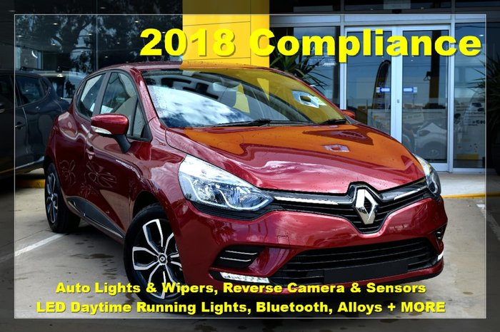 2018 RENAULT CLIO LIFE IV B98 Phase 2 Red