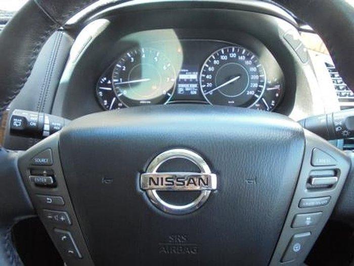 2015 NISSAN PATROL TI-L Y62 Silver