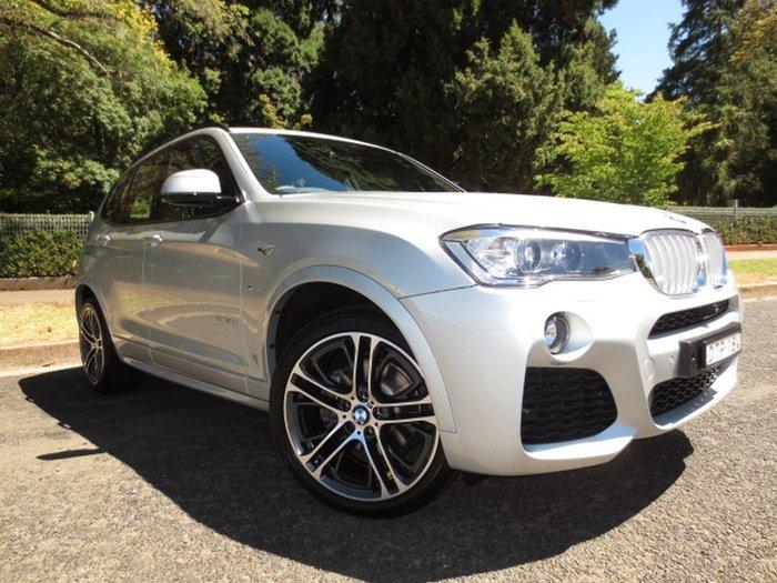 2017 BMW X3 XDRIVE30D F25 LCI Silver