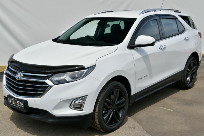 2018 HOLDEN EQUINOX LTZ EQ MY18 SUMMIT WHITE