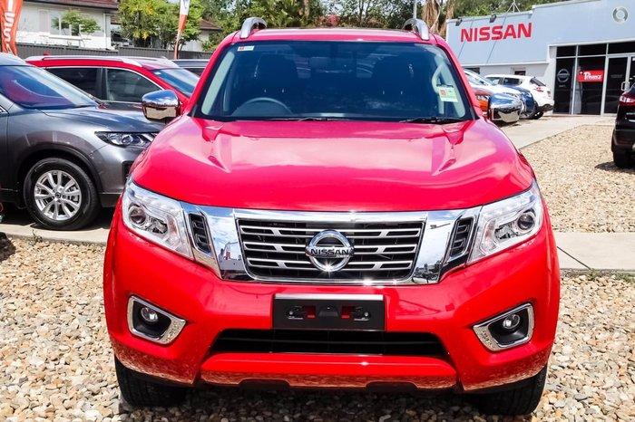 2017 NISSAN NAVARA ST-X D23 Series 2 Red