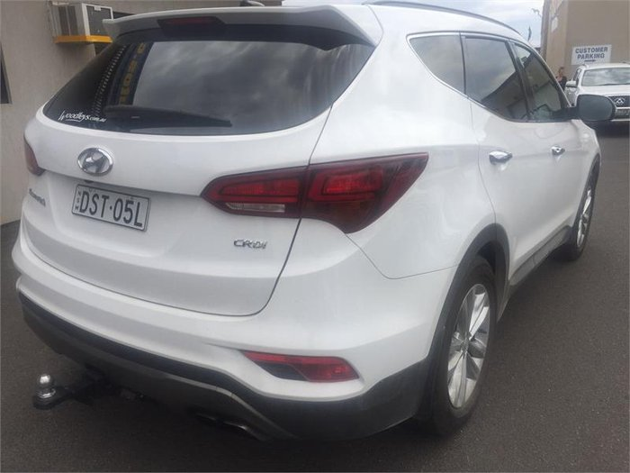 2016 Hyundai Santa Fe Elite DM3 MY16 White