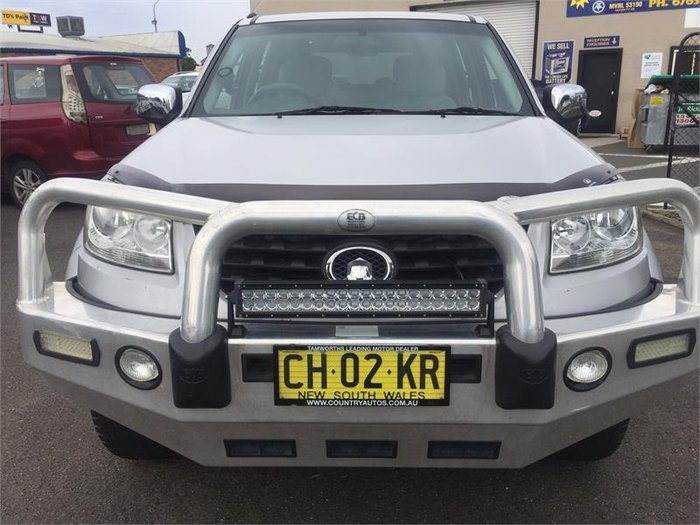 2012 Great Wall V200 MY12 SILVER