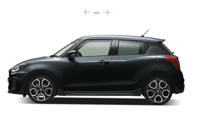 2018 SUZUKI SWIFT SPORT AZ Black