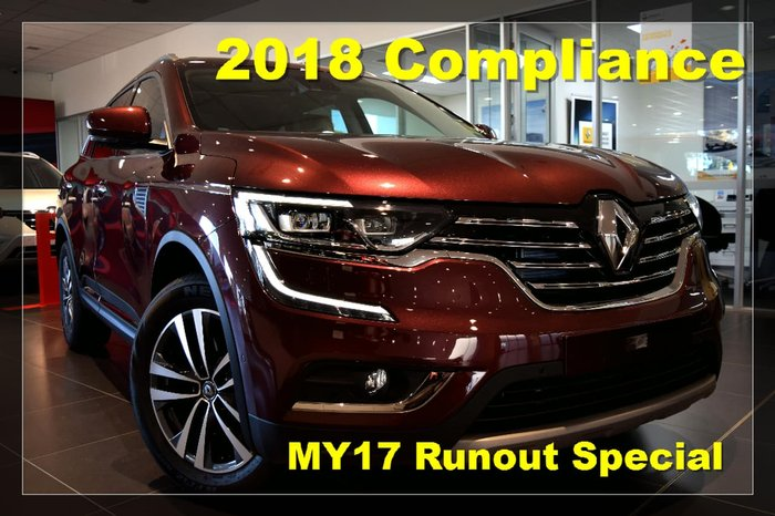 2018 RENAULT KOLEOS INTENS HZG Red