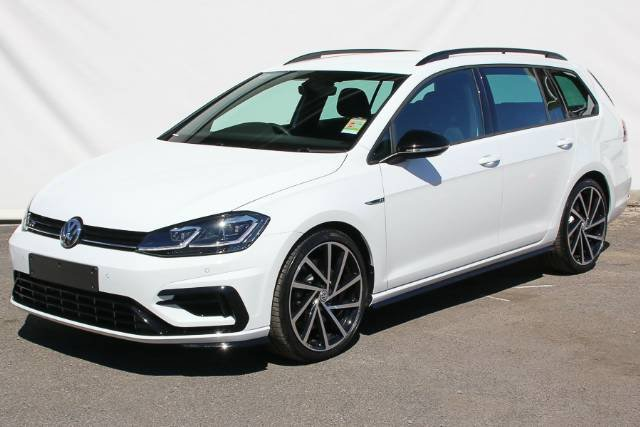 2018 VOLKSWAGEN GOLF R GRID EDITION 7.5 MY18 PURE WHITE