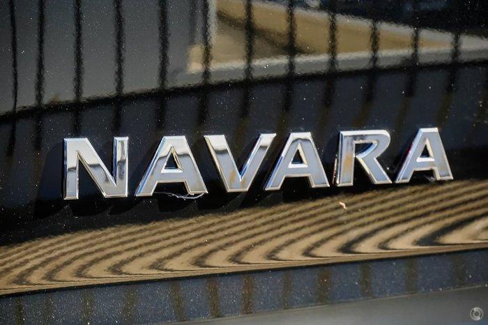 2018 NISSAN NAVARA ST D23 Series 3 Black