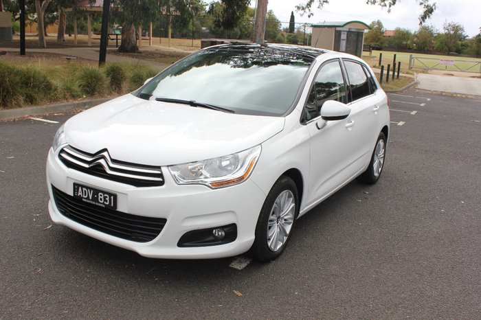 2015 CITROEN C4 SEDUCTION B7 White