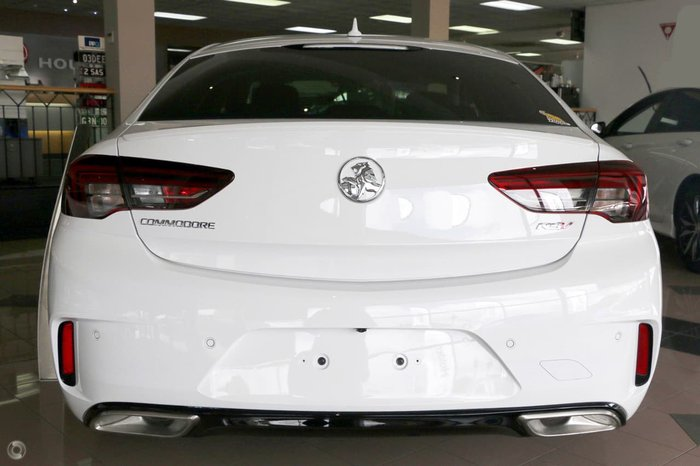 2018 HOLDEN COMMODORE RS-V ZB White