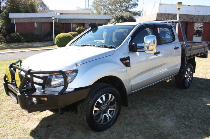 2013 FORD RANGER XLS PX Silver