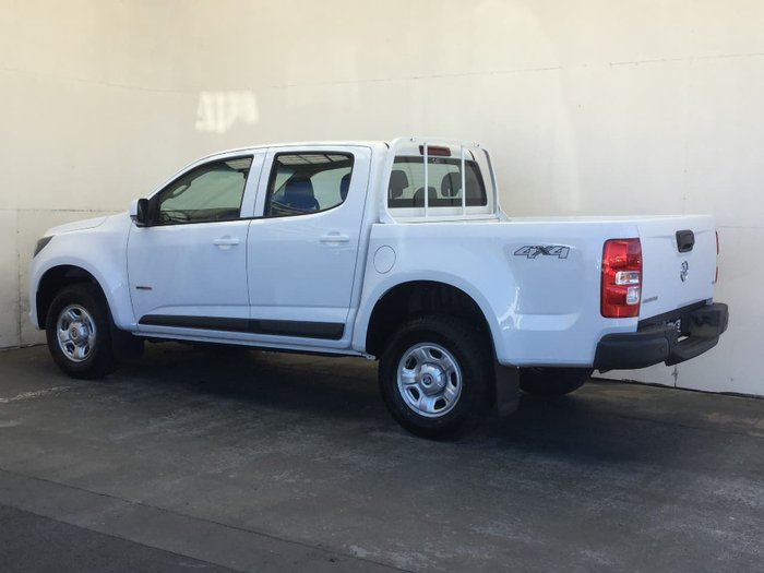 2017 HOLDEN COLORADO LS RG White