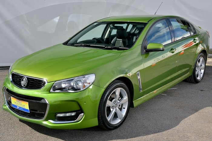 2016 HOLDEN COMMODORE SV6 VF II MY16 GREEN