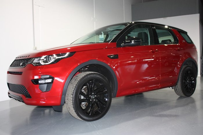 2017 LAND ROVER DISCOVERY SPORT TD4 132KW SE L550 Red