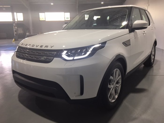 2018 LAND ROVER DISCOVERY TD6 SE Series 5 White