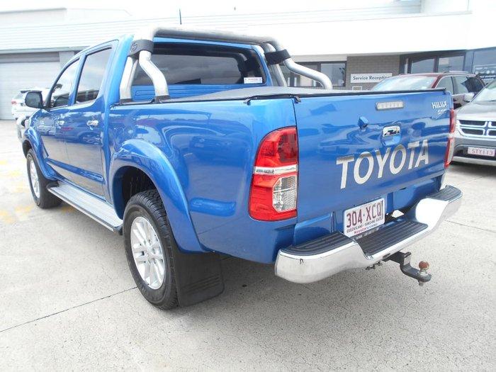 2014 TOYOTA HILUX SR5 KUN26R Blue