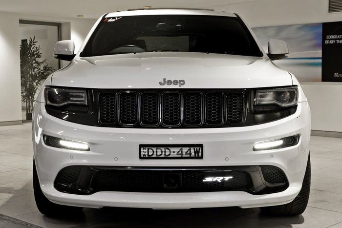 2014 JEEP GRAND CHEROKEE SRT WK White