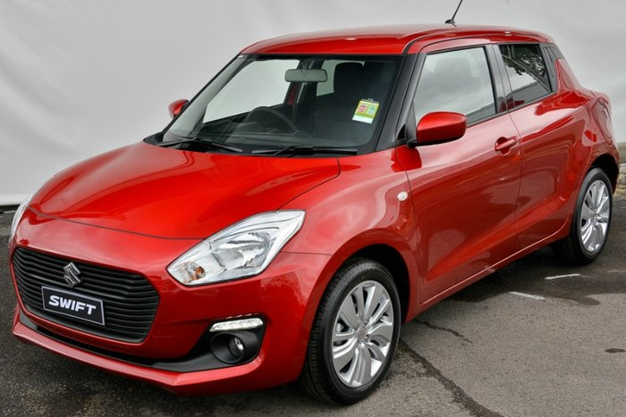 2018 SUZUKI SWIFT GL NAVIGATOR AZ BURN RED