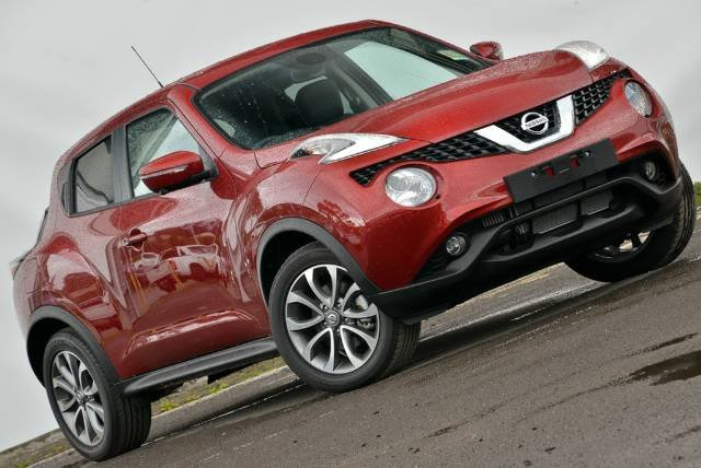 2018 NISSAN JUKE TI-S F15 SERIES 2 MAGNETIC RED