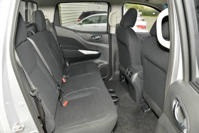 2018 NISSAN NAVARA ST DUAL CAB D23 S3 SILVER