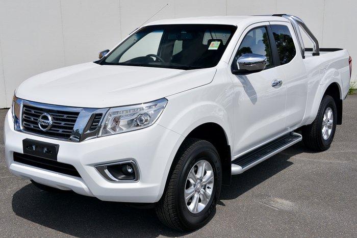 2018 NISSAN NAVARA ST EXTENDED CAB D23 S3 POLAR WHITE