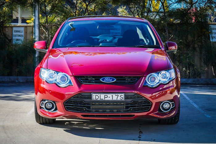 2013 Ford Falcon XR6 Turbo FG MkII Emperor Red