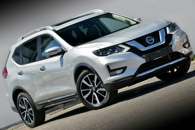 2018 NISSAN X-TRAIL TL T32 SERIES II BRILLIANT SILVER
