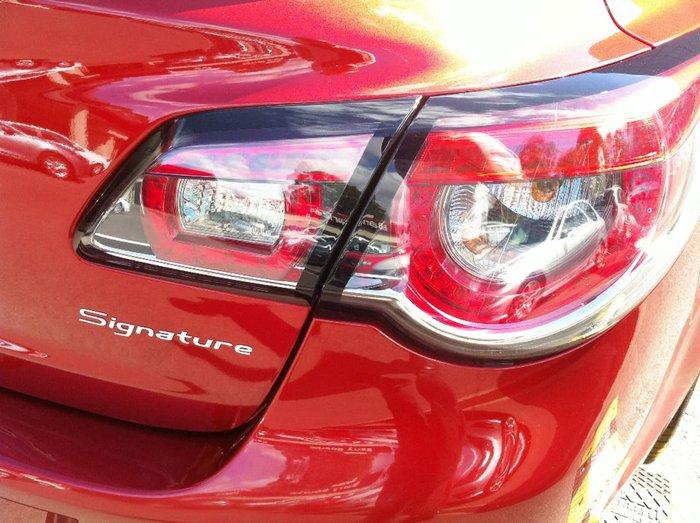 2014 HOLDEN SPECIAL VEHICLES SENATOR SIGNATURE GEN-F Red