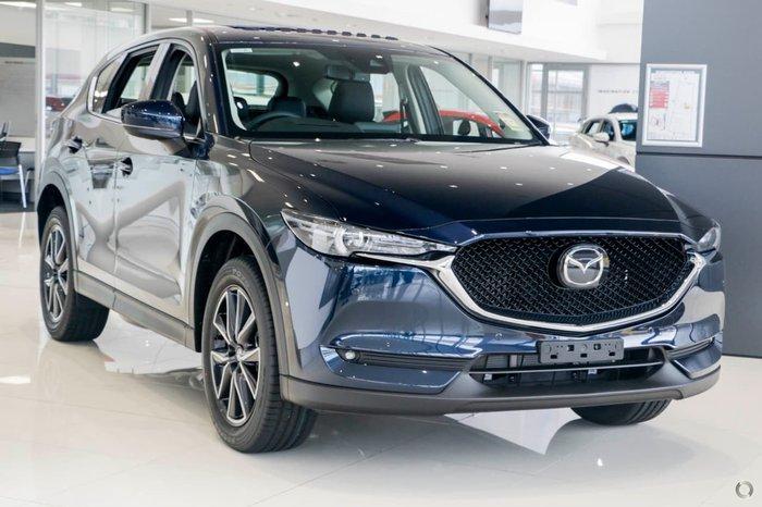 2018 MAZDA CX-5 AKERA KF Series Blue