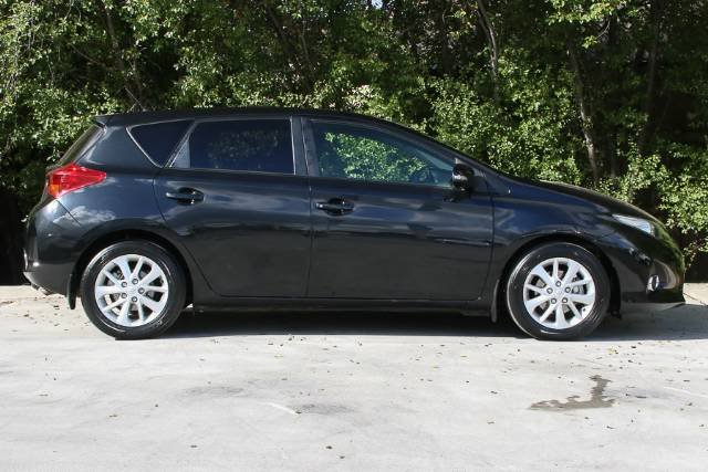 2012 TOYOTA COROLLA ASCENT SPORT ZRE152R MY11 INK BLACK
