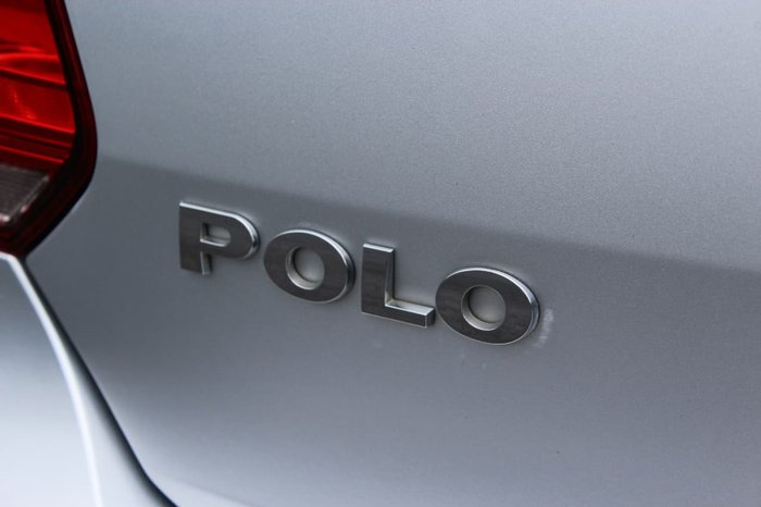 2013 VOLKSWAGEN POLO TRENDLINE 6R Silver