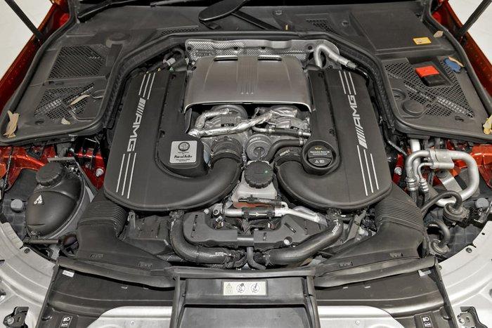 2015 MERCEDES-BENZ C63 AMG S W205 Red