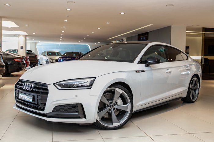 2019 Audi A5 45 TFSI sport F5 MY19 Four Wheel Drive white