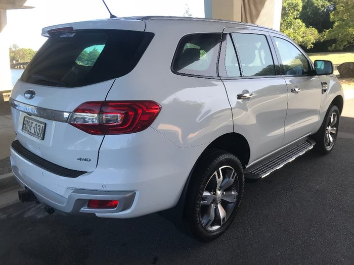 2015 FORD EVEREST TITANIUM UA White