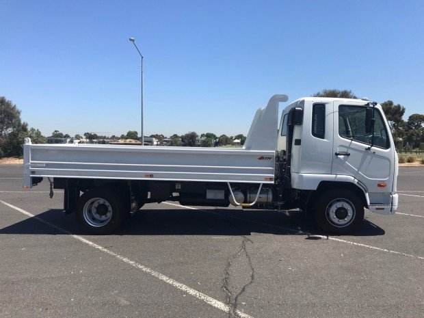 2017 Fuso Fighter 1124 White