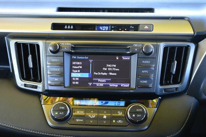2014 TOYOTA RAV4 GXL 2WD ZSA42R MY14 WHITE