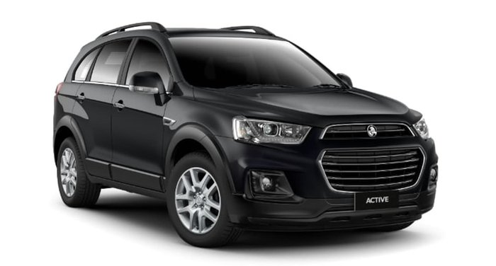 2018 HOLDEN CAPTIVA ACTIVE CG Black