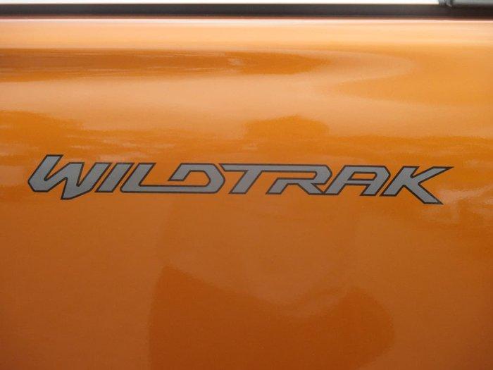 2017 FORD RANGER WILDTRAK PX MkII Orange
