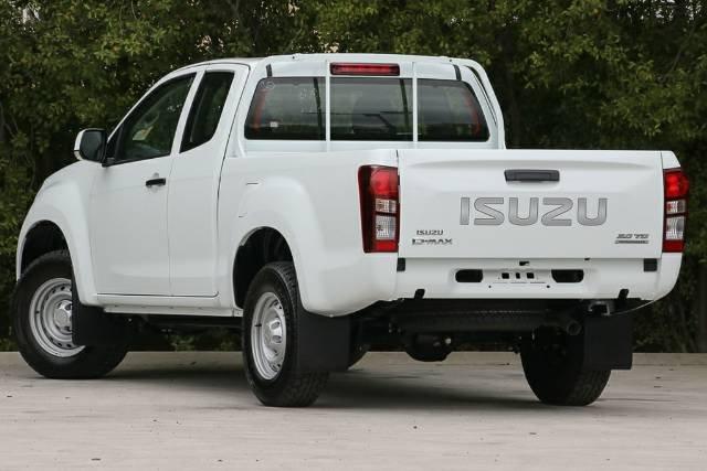 2018 ISUZU D-MAX 4x2 SX HIGH RIDE EXT MY17 SPLASH WHITE