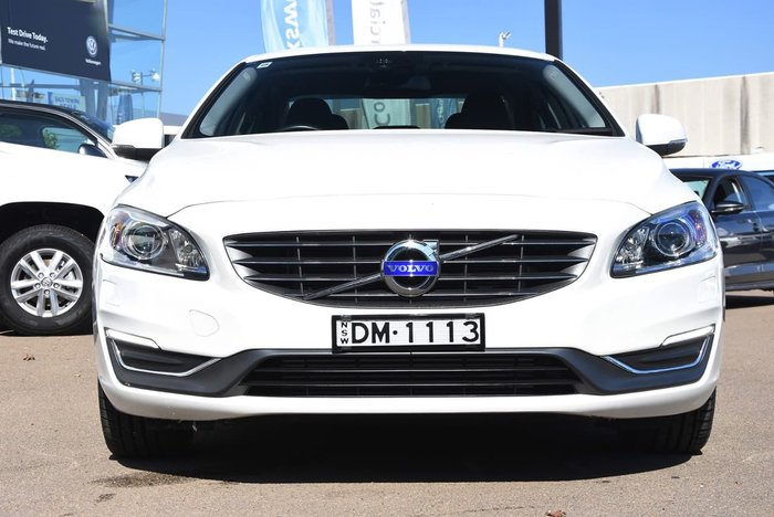 2014 VOLVO S60 D4 LUXURY (No Series) White