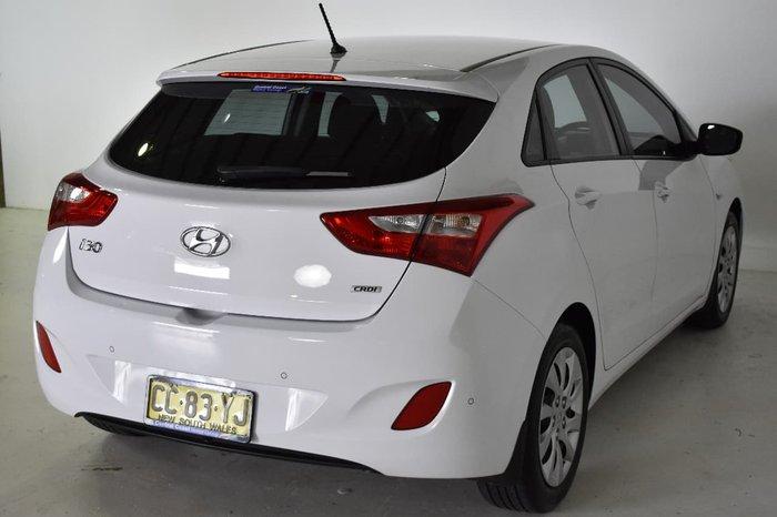 2014 HYUNDAI I30 ACTIVE GD2 White