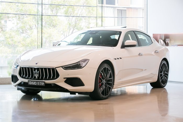 2019 Maserati Ghibli S GranSport MY19 Bianco