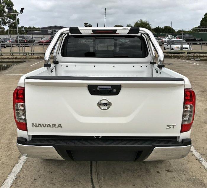 2018 NISSAN NAVARA ST D23 Series 3 White