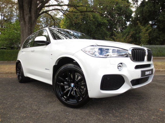 2018 BMW X5 XDRIVE30D F15 White