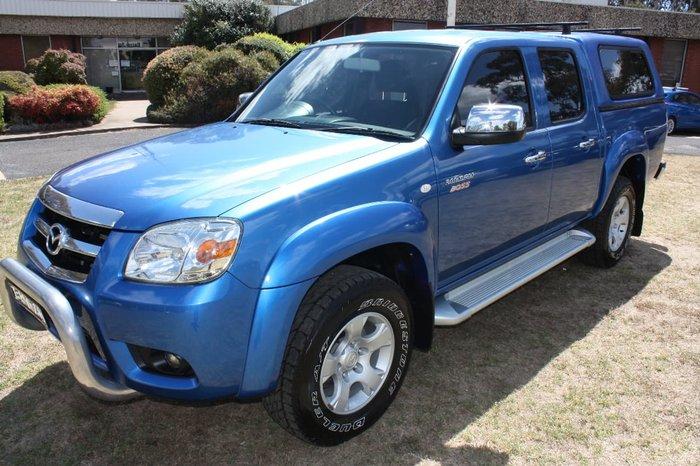 2010 MAZDA BT-50 SDX UN Blue