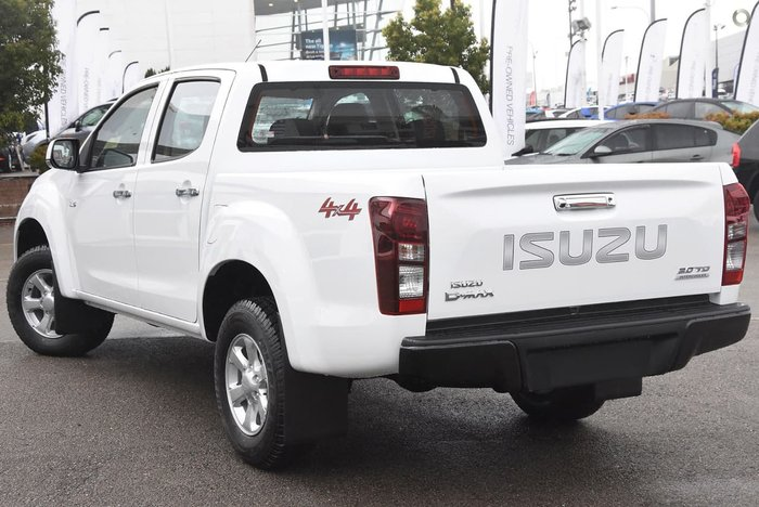 2018 ISUZU D-MAX LS-M (No Series) White
